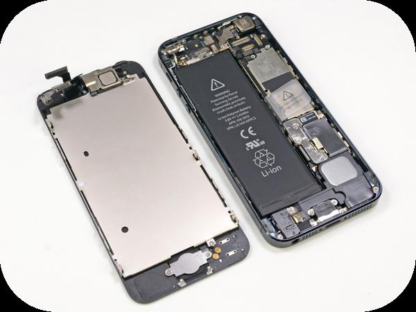 Замена дисплея (экрана) iPhone 5 - 1