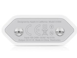 Адаптер питания Apple USB for iPhone мощностью 5 Вт (зарядка для Айфон) - 2